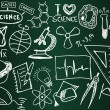 Royalty-Free Stock Vector Image: Science school board