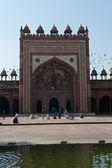 летать вокруг мечети — Стоковое фото