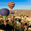Hot air ballooning - Stock Photo