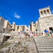 The gateway of Acropolis, Athens, Greece — Stockfoto