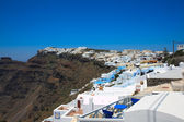 A Fira City, Santorini, Greece — Stock Photo