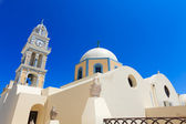 A nice church at Fira, Santorini, Greece — Stock Photo