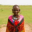 Stock Photo: Kenywomof Masai tribe