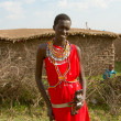Stock Photo: Kenyyoung mof Masai tribe