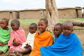 A group of lovely kenyan children — Stock Photo