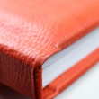 Orange book — Stock Photo
