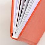 Orange book — Stock Photo #8637316