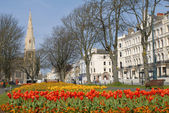 Hove in the Spring, West Sussex — Stock Photo