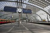 Dworzec kolejowy — Zdjęcie stockowe