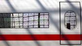 поезд в деталях — Стоковое фото
