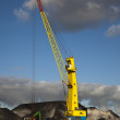 Crane with blue sky — Stock Photo #8630725