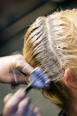 Haare colorring — Stockfoto