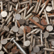 Rusty Nails — Stock Photo
