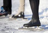 кататься на коньках в деталях — Стоковое фото