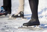 滑冰详细 — 图库照片
