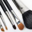 图库照片: Make up Brushes