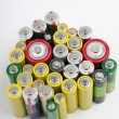 Batteries — Stock Photo #8983501