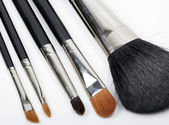 Make-up borstels — Stockfoto