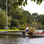 Dutch boat — Stock Photo