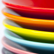 Colorful dishes — Stock Photo
