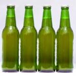 Beer botlles — Stock Photo