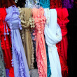Shawl on the market — Foto Stock