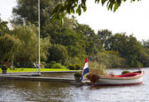 Dutch boat — Foto Stock