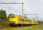 Dutch Train — Stock Photo