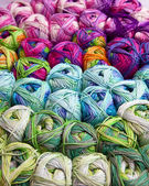 Colorfull Yarn — Stock Photo