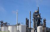 化学工厂 — 图库照片