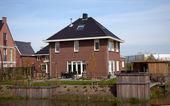 荷兰的房子 — 图库照片