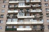 старые квартиры — Стоковое фото