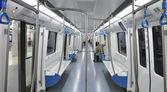 Metro cart — 图库照片