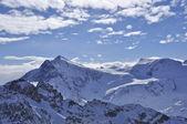 Snow mountain in titlis — Stock Photo