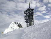 Observatory on titlis — Stock Photo