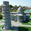Stock Photo: Tower of Pisin park Italiin miniatura