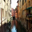 Stock Photo: Water channel in Bologna