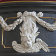 Stock Photo: Decoration on Pulpit