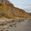 Beach at Autumn — Stock Photo