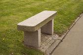 Bench of Granite — Stock Photo
