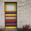 Colourful Door - Stock Photo