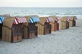 Cestini di spiaggia — Foto Stock