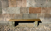 Church Bench — Stock Photo