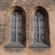 Stockfoto: Leaded Windows