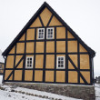 Half-Timbered Farm House — Stock Photo