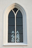 Leaded Church Window — 图库照片