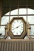 Zegar odkryty — Zdjęcie stockowe