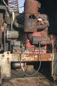 Scrap Engine — Stock Photo