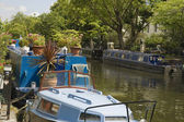Small River Boats — Stock Photo