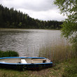 Stock Photo: Dinghy at Lake